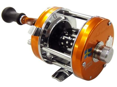 Abu Garcia Ambassador 5500/5501CS Rocket Factory Tuned Orange